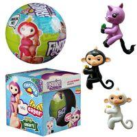 Wholesale Kawaii Gift Box - 7.5cm Surprise Balls LQL Baby Monkey Unicorns Dolls PVC Kawaii Children Toys Anime Action Figures baby monkey Dolls Gifts Boxes DHL for free
