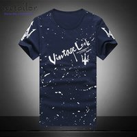 Wholesale T Shirts Wholesale Famous Brands - Wholesale- T-shirt men summer style high quality men's t shirt cotton maserati printed tees Tshirt men famous brand shirt Hombre