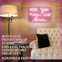 Neon Sign Light Beer Bar Ragazze Wall Window Lights Camera da letto Home Signs