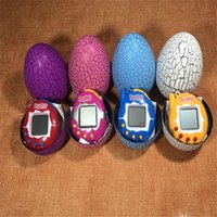 Wholesale Eva Machine - Christmas Tamagotchi tumbler Toy with a keychain EDC Multi-color Cartoon Surprise Egg Electronic Pet Mini Hand-hold Game Machine a Gifts Toy