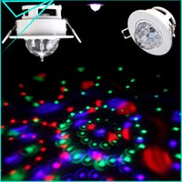 Gros-Crochets plafond Stage de lumière Moving Head Parti Effect LED Active Sound Rotating Disco DJ RGB Full Color Lamp
