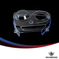 Wholesale Nissan Racing - PQY RACING- Sale Well Clear Cam Gear Timing Belt Cover Pulley For NISSAN Skyline R32 R33 GTS RB25DET PQY6339