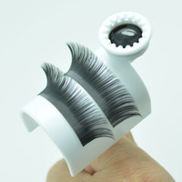 Wholesale Eyelash Extension Kit Glue - Wholesale-Individual Eyelashes Holder Eyelash Extension Kit Tool Lash Glue Ring
