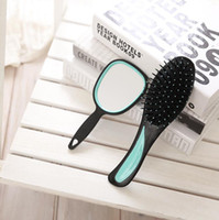 Wholesale Wholesale Bumpits - Four color two-piece gasbag comb health care massage comb flat women Bumpits make head comfortable for fashion lady easy take and go ST04