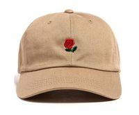 rosenbälle zum verkauf großhandel-2016 heißer Verkauf die hundert Ball Cap Snapback die hundert Rose Papa Hut Baseball Caps Snapbacks Sommer Mode Golf Hut einstellbare Sonnenhüte