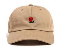 Wholesale snapback army casual online - 2016 Hot sale The Hundred Ball Cap Snapback The Hundred Rose Dad Hat Baseball Caps Snapbacks Summer Fashion Golf Hat Adjustable Sun Hats