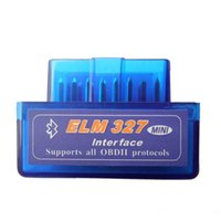 Wholesale obd2 adapter bluetooth - Super Mini Elm327 Bluetooth OBD2 V2.1 Elm 327 Android Adapter Car Scanner OBD 2 Elm-327 OBDII Auto Diagnostic Tool Scanner