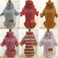 Wholesale Cat Modelling Shirt - Pet dog clothes bottoming shirt autumn and winter models VIP Teddy cat kittens than the bear