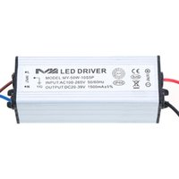 Wholesale High Power Led Driver Dc - Durable High Power Consumption AC DC Adapter 50W 1.5A Led Driver 20-39V Lighting Transformers Power Supply for Light Lamp Bulb