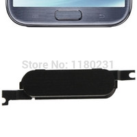 Wholesale Note Ii Home Button - Wholesale-Mobile Phone Keypads Main Return Home Button Keypad Fix for Samsung Galaxy Note II N7100 Replacement Home Button,Black   White