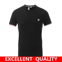 Wholesale Funny Jerseys - Top quality Men's funny tee cute t shirts Brand LOGO Embroidery men short sleeves cotton tops cool tshirt summer jersey costume t-shirt