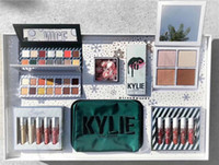 Kylie Holiday Collection 2017 Kylie Collezione Natale Set Naughty Nice Eyeshadow The Wet Set Velvet Liquid Rossetti Kylie big box