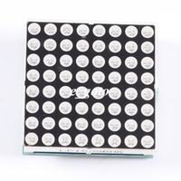 exibição de matriz de pontos led venda por atacado-Atacado-8x8 LED Vermelho Verde Dual Color Dot Matrix Módulo Display TM1640 para Arduino