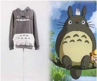 Wholesale Totoro Costume Days - New Adult Unisex Japanese Anime My Neighbor Totoro Hoody Jacket Cosplay Costume Autumn winter Hooded fleeces