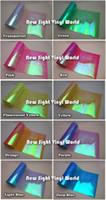Wholesale Tint Rolls Wholesale - 10 Rolls Lot 10 Colors Rainbow Effect Car Light Chameleon Headlight Film Taillight Tint Film Vinyl Color Change Size:0.3*10M
