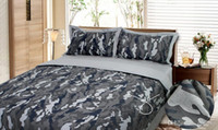 Wholesale Wholesale Camouflage Bedding - Camouflage Army Camo bedding sets king queen full size pure cotton adult Childrens Bedding Sets 4 pcs free shipping
