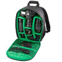 Wholesale Dslr Video Shoulder - New Pattern DSLR Camera Bag Backpack Video Photo Bags for Camera d3200 d3100 d5200 d7100 Small Compact Camera Backpack