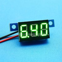 Großhandels-Direct Current DC3-30V 0.36Inch Grüne LED Digital Display Panel-Voltmeter H1E1
