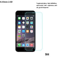 Wholesale phone guards - HD 0.33mm 2.5D Premium Real Tempered Glass Film Screen Guard Protector for Mobile phone