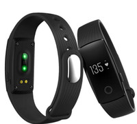 Wholesale id107 smart bracelet for sale - ID107 Bluetooth Smart Band Bracelet with Heart Rate Monitor Wristband Fitness Tracker for Android IOS Smartphone Better Than Fit Bit