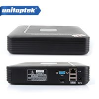 Wholesale Vga Video Recorder - 8CH NVR Smart Mini 1U Network Video Recorder HDMI VGA Output 8 channel 1080P Support Smart Phone and Onvif NVR P2P Cloud MAX 4TB HDD