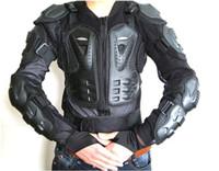 motosiklet vücut koruyucuları toptan satış-Motosiklet Tam Vücut Zırh Ceket Motokros Koruyucu Omurga Göğüs Koruma Dişli ~ M L XL XXL
