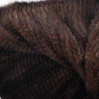 Wholesale Overcoat Poncho Jacket - Wholesale-ZDFURS * 100% Genuine Mink Fur Shawl mink fur Poncho Women Knitted Mink Fur Cape Winter Outwear Overcoat Jackets