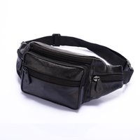 Wholesale Leather Leg Bag Men - Free Shipping Brand New Multi functional Drop Leg Motorcycle Cycling Fanny Pack Waist Belt Bag Men waist bag Black Color Zy00514