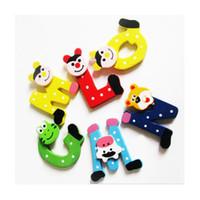 Wholesale alphabet toys resale online - uumay New Arrival Wooden Cartoon Alphabet A Z Magnets Child Educational Toy