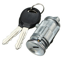 Wholesale locking 12v switch - Ignition Key Switch Lock Cylinder With 2 Keys For Chrysler for Dodge Jeep Plymouth