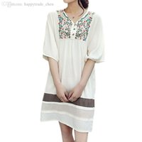 Wholesale Blouse New Maternity - Wholesale-11 Colors Cotton Maternity Dresses Blouses Shirts Clothing Pregnant Dress Top Clothes For Pregnant Women Fashion Summer 2015 New