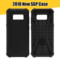 Wholesale Sgp Cases - SGP Rugged Armor Case Soft TPU Carbon Fiber Shockproof Shell for iPhone X 8 8plus 7+ 6S 6plus for Samsung S8 S8Plus Note8