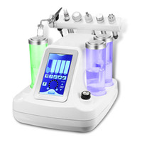 Wholesale Facial Cleansing Machines - 6 in 1 hydra facial water dermabrasion bio cavition rf cold hammer oxygen facial deep cleansing Oxygen jet Peeling machine