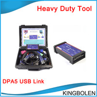 Wholesale Heavy Duty Truck Diagnostic Scanner - Professionnal truck diagnostic tool DPA5 Dearborn Portocol Adapter Heavy Duty Scanner DPA-5 for diesel Engine better than Nexiq USB Link