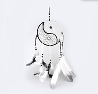 Wholesale Hand Woven Dream Catcher Chinese Traditional Tai Chi Style Wind Chimes Dreamcatcher Car Decoration Pendant home decor
