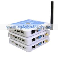 Wholesale Client Servers - Free Shipping Wireless Thin Client WinCE6.0 PC Station WiFi Terminal Computer USB Mini PC Cloud Terminal 800MHz CPU Computer Network Device