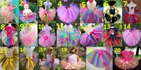 Wholesale Only Tutu - 2015 New Girl TUTU Skirts Colorful Gauze Bowknot Ribbon Princess Skirt 1-10Y 2250 Only Include Skirt