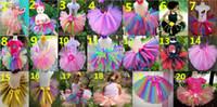Wholesale Gauze Skirt Bowknot - 2015 New Girl TUTU Skirts Colorful Gauze Bowknot Ribbon Princess Skirt 1-10Y 2250 Only Include Skirt