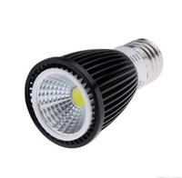 светодиодный индикатор mr16 12v 3w оптовых-Супер яркий COB Затемняемый светодиодные лампы 3 Вт/5 Вт/7 Вт E27 GU10 110-240 В MR16 12 В светодиодный прожектор светодиодные лампы Downlight освещение CE ROHS