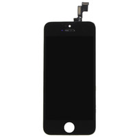Discount iphone 5s lcd screen digitizer - Wholesale-Hot Sale Grade AAA Quality Front Screen LCD For iPhone 5s Display With Digitizer Touch Screen Replacement in Black VAH82 T15