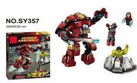 Wholesale SY357 Super Heroes Avengers Age Of Ultron Minifigures Heroes Assemble Hulk Buster Building Blocks MiniFigures Bricks Figures