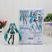 Wholesale Sexy Dolls Action Figures - Figma 014 sexy anime action toy figure Hatsune Miku MIKU hand movable doll model