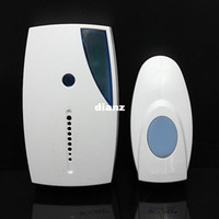 Porte Musicale Sans Fil Pas Cher-New Arrive White Portable Mini LED 32 Tune Songs Musical Music Sound Voice Sans fil Chime Door Room Door Bell Doorbell + Télécommande