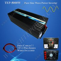 Wholesale Sine Wave Inverter 5kw - Best price dc 12v 24v off grid pure sine wave 5kw solar power inverter for 240v country