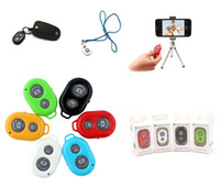 Wholesale Iphone Camera Remote Shutter - Wireless SELFIE Bluetooth Remote Control Self-timer Shutter Snapshot Camera Control Remote Shutter For iPhone  Samsung  Sony  Camera