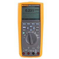 Wholesale Multimeter Fluke - Wholesale-Free Shipping 100% Original Fluke 287C True-RMS Electronics Logging Multimeter Fluke 287 DMM