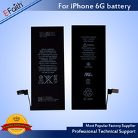Wholesale Replacement Ups Batteries - For iphone 6 6s Battery Grade A+++ Quality Internal Built-in Li-ion Replacement Battery For iphone 6 & Free UPS Shipping