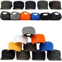 Wholesale Vintage Cadet Hats - New Vintage Cap Army Military Castro Cadet Patrol Cap Hat Many Colors 2016 hot selling Free Shipping