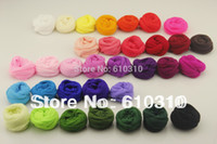 Wholesale Diy Accessories Handmade Materials - Wholesale-Free Shipping wholesale 2.5m Multicolor flower Nylon stocking material accessory handmade diy nylon flower stocking(30pcs Lot)
