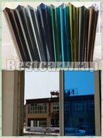 ingrosso adesivo per la privacy-Vari Colori Privacy Finestra Specchio Pellicola Adesiva Autoadesivo Finestra tinta di vetro di protezione pellicola che copre 1.52x30m = 5x98ft